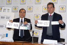 Cabe señalar que la nueva nomenclatura se debe a que la anterior, compuesta de tres números, un guión y tres letras, ha agotado las combinaciones posibles y llega a su final con la expedición de  la placa 999-ZZZ.