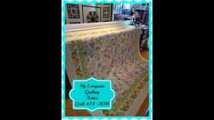 My longarm Quilting Antics Quilt #14 2018