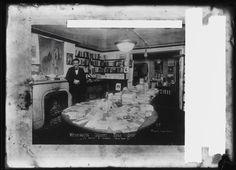 Washington Square Book Shop, 17 West 8 Street. c. 1910s - 1920s. Interior view of the Washington Square Book Shop at 17 West 8 Street.