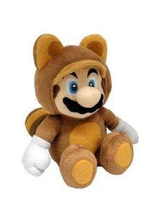 Tanooki Mario Plush Toy