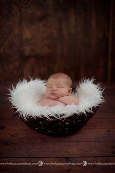 Baby Bradley's Newborn Session 8 days old » Bethann Greenberg Photography