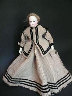 Barrois French fashion with bisque arms from antiquedolls6395 on Ruby Lane