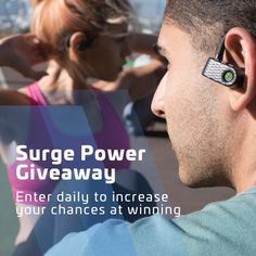 True wireless is in! Enter Rowkin's Surge Power Giveaway and get headphones for free. Check it out: https://www.rowkin.com/power-giveaway