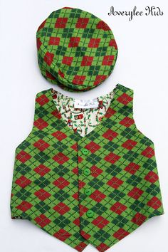 f055c9aa9 E Land Kids Boys Christmas Red Holiday Tartan Plaid Vest | christmas -  outfits in 2019 | Kids christmas outfits, Plaid vest, Kids outfits