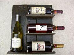 Wine Rack  Upcycled Wine Rack  Distressed Wine by ReclaimedRedwood, $100.00