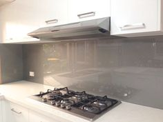 kitchen splashbacks Kitchen Splashback Ideas Metallic Charcoal Coloured Glass Splashbacks From Ultimate Glass Splashbacks.