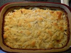 Chicken & Dumplings Casserole