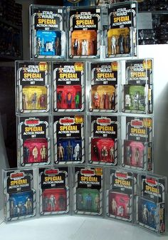Full Collection Of Star Wars 3 Packs Star Wars and Empire 77' 80'