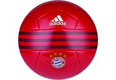 adidas Bayern Soccer Ball - FCB True Red. Get yours at www.soccerpro.com today!