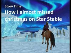 Star Stable: Christmas 2017 Wait.. No Snow, New Quests, Ornaments on Stable