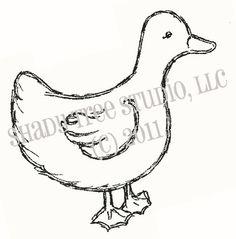 Mama Duck digital image