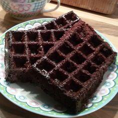 Brownie wafels - Het keukentje van Syts