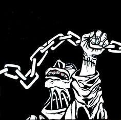 De regreso a oktubre. Patricio Rey y sus redonditos de ricota Rock Argentino, El Rock And Roll, Metalhead, Tatoos, Darth Vader, Van, Stickers, Fictional Characters, Revolution