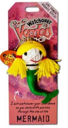 "Watchover Voodoo Doll Franken  3/"" New Lucky Charm Mr"