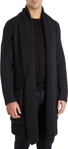 Men's hand knit cardigan 30A