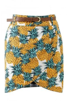 Yumi Inna Pineapple print skirt, YN093