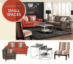 Socialize in style with the retro-chic design of the Angora collection!