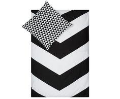 Schlafen Sie schön! Shoppen Sie Renforcé-Bettwäsche Chevron Schwarz und Weiß gemustert und genießen Sie Ihren Schlaf. Lassen Sie sich von DAMAI auf >> WestwingNow inspirieren.