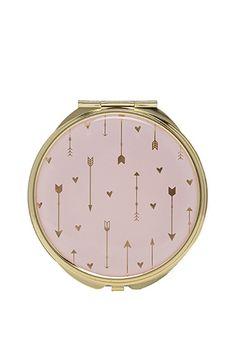 Cupid's Arrow Compact Mirror | FOREVER21 | #beautymark
