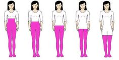 You can easily adjust and flatter your visual body proportions once you understand your Vertical Body Shape
