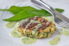 Die Bärlauch-Laibchen sind ein feines, köstliches und gesundes Essen. Ein Rezept für die Frühlingszeit.