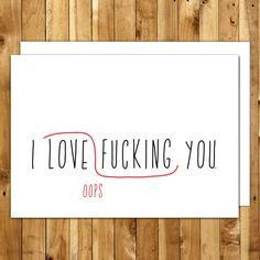 Naughty Valentines Day Card. Love Card. Anniversary Card. Card For Him. Birthday Card Boyfriend. Dirty Card. Proofreaders Mark Greeting Card