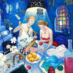 Cooking lessons ~ Svetlana Kalachnik ~ Galerie Knud Grothe