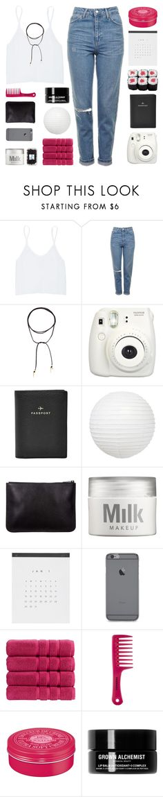 """POWER (RTD)"" by expresng ❤ liked on Polyvore featuring Talula, Topshop, Vanessa Mooney, Fujifilm, FOSSIL, MILK MAKEUP, Christy, Sephora Collection, L'Occitane and Grown Alchemist"