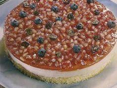 Receita de Semifrio de mirtilos e romãs - http://www.receitasja.com/receita-de-semifrio-de-mirtilos-e-romas/