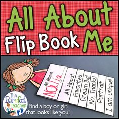 This All About Me Back to School Flip Book Craftivity is fun, easy, and will go right along with the other activities, ideas, and crafts that you have planned for your kids to do this fall. Six tabs provide information for Preschool, Kindergarten, or First Grade littles to fill out so that they can share all about themselves, while incorporating beginning writing practice at the same time. Simple cutting and easy assembly allows for all students to happily succeed!