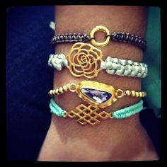Rose - Diy bracelets