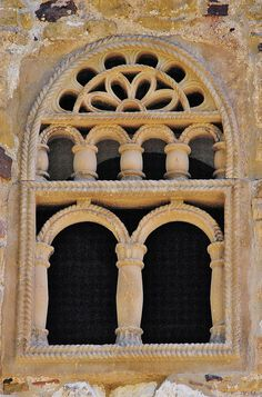 Detalle de  San Miguel de Lillo  Oviedo Asturias