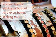 9 smart tips for starting a budget and sticking to it, including some you probably never considered | coolmompicks.com
