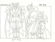 Dragon Ball - Model Sheet 091 | Dragon Ball Art Concepts Mod… | Flickr