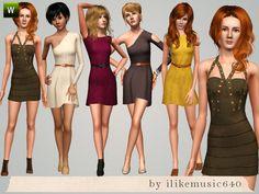 ILikeMusic640's A Mixture of Dresses