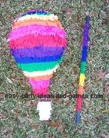 instructions on how to make a pinata