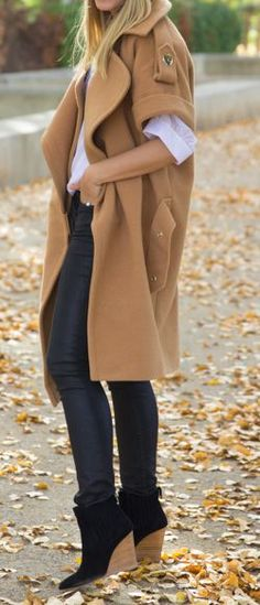 There are so many ways to style short wedge booties for the fall and winter! They can transition easily from day to night in an instant! How would you wear this boot style?