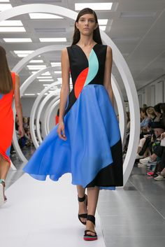 A look from the Roksanda Ilincic Spring 2015 RTW collection. I SOOOO WANT THIS