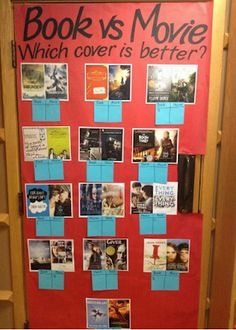 Keeping Up with Kids: IFLS Youth Services: Easy Interactive Teen Displays in Menomonie Teen Library Displays, Teen Library Space, School Displays, Library Work, School Library Decor, Middle School Libraries, Elementary Library, Reading Display, Centre De Documentation