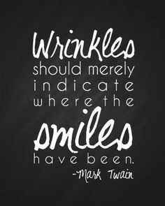 Where The Smiles Have Been Printable