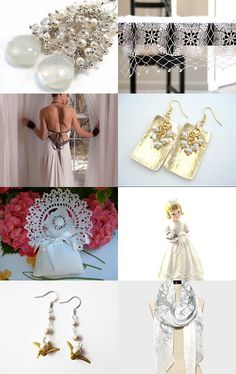 Wedding Whites by Jo P on Etsy--Pinned with TreasuryPin.com