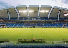FIFA World Cup 2014 stadiums photographed by Leonardo Finotti - Arena das Dunas by Populous, Natal.
