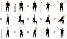 Simple Chair Exercises For Senior Citizens Chair