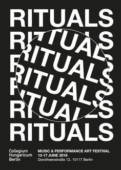 RITUALS MUSIC & PERFORMANCE ART FESTIVAL BERLIN 13-17 JUNE 2016