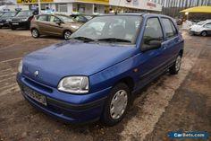 1998 RENAULT CLIO BIARRITZ BLUE NO MOT 1.1 5 Door #renault #cliobiarritz #forsale #unitedkingdom