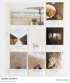 April Layouts with Paislee Press