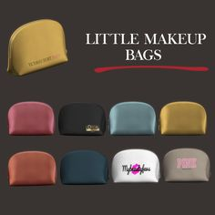 Leo sims - little makeup bag for the sims 4 Sims 4 Teen, Sims Four, Sims Cc, Sims 4 Mods Clothes, Sims 4 Clothing, The Sims 4 Packs, Sims 4 Clutter, Sims 4 Game Mods, Sims 4 Gameplay