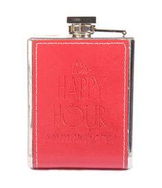 Joanna Wood Red Hip Flask