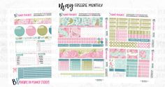 May Monthly Free Printable
