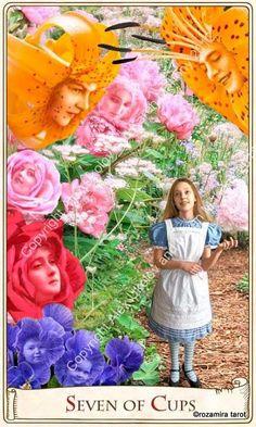 Seven of Cups - Alice Tarot